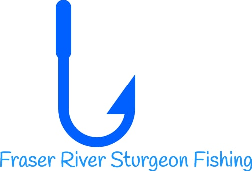 fraser river sturgeon fishing logo